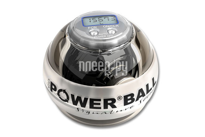 Тренажер кистевой Powerball Signature 250 Hz PB-188LC White-Black  Pleer.ru  1510.000