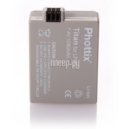 Аккумулятор Phottix LP-E5  Pleer.ru  309.000