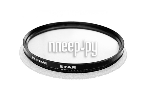 Светофильтр Fujimi Star-4 72mm  Pleer.ru