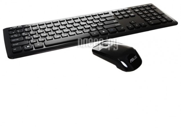 Набор ASUS W3000 Wireless Black USB
