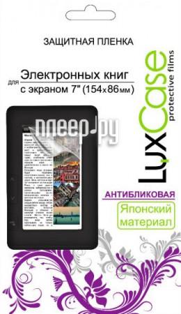 Аксессуар Защитная пленка LuxCase 7.0 антибликовая 154x86mm 80126  Pleer.ru  619.000
