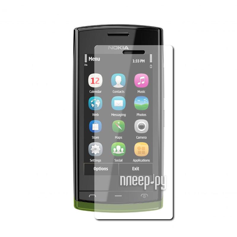 Аксессуар Защитная пленка Nokia 500 Fate LuxCase антибликовая 80420  Pleer.ru  94.000