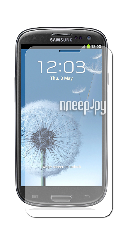 Аксессуар Защитная пленка Samsung GT-i9300 Galaxy S III LuxCase антибликовая 80539  Pleer.ru  554.000