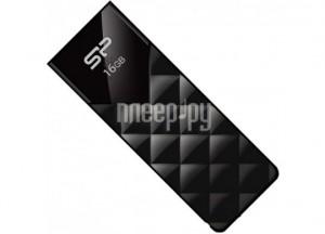 Купить USB Flash Drive 16Gb - Silicon Power Ultima U03 Black SP016GBUF2U03V1K