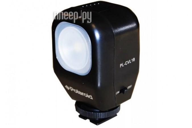 Видеосвет Polaroid 18 LED PLCVL18  Pleer.ru  1486.000