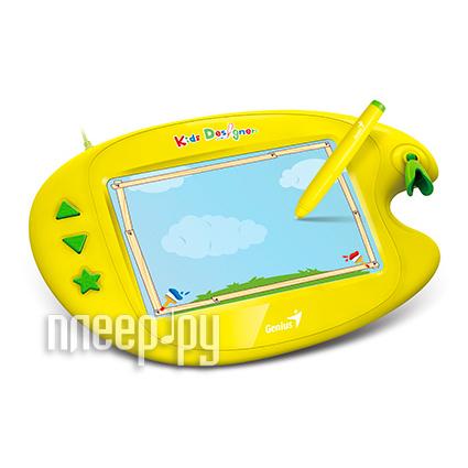 Графический планшет Genius G-Pen Kids Design II Yellow  Pleer.ru  2031.000