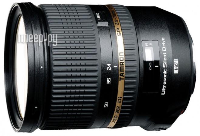 Объектив Tamron AF SP 24-70mm f / 2.8 DI VC USD Nikon F купить