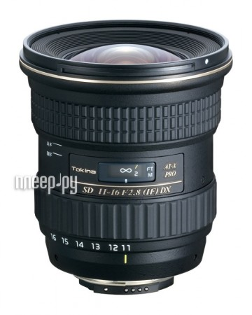 Объектив Tokina Sony / Minolta 11-16 mm F/2.8 AT-X Pro DX  Pleer.ru  18998.000