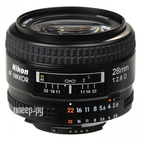 Объектив Nikon Nikkor AF 28 mm F / 2.8 D