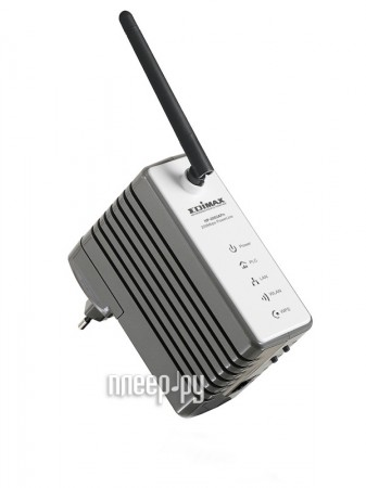 Powerline адаптер Edimax HP-2002APn - Wi-Fi точка доступа  Pleer.ru  2540.000