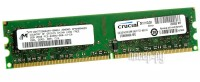 Модуль памяти Crucial DDR2 DIMM 800MHz PC2-6400 - 2Gb CT25664AA800