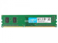 Модуль памяти Crucial DDR3 DIMM 1600MHz PC3-12800 - 2Gb CT25664BD160B