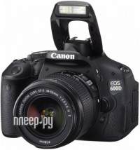 Фотоаппарат Canon EOS 600D Kit EF-S 18-55 IS II - УЦЕНКА!