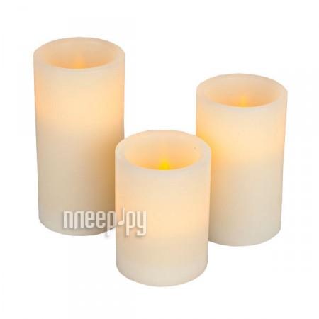 Светодиодная свеча LED Candle S-3PC  Pleer.ru  1240.000