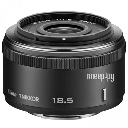 Объектив Nikon Nikkor 18.5 mm F/1.8 for Nikon 1 Black  Pleer.ru  6711.000