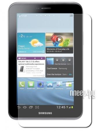 Аксессуар Защитная пленка Samsung Galaxy Tab 2 7.0 P3100 LuxCase суперпрозрачная 80974  Pleer.ru  119.000