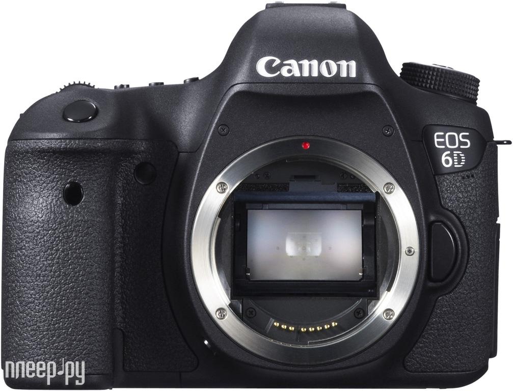 Фотоаппарат Canon EOS 6D Body (WG) Wi-Fi, GPS