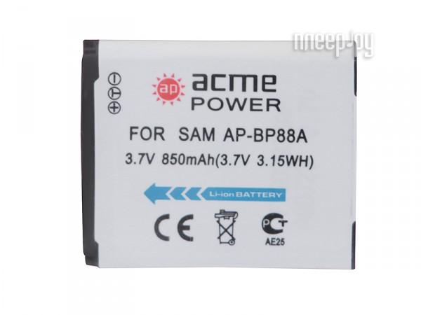 Аккумулятор AcmePower AP BP-88A  Pleer.ru  289.000