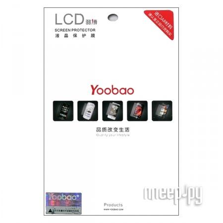 Аксессуар Защитная пленка Samsung Galaxy Tab 2 10.1 P5100/P5110 Yoobao прозрачная  Pleer.ru  590.000
