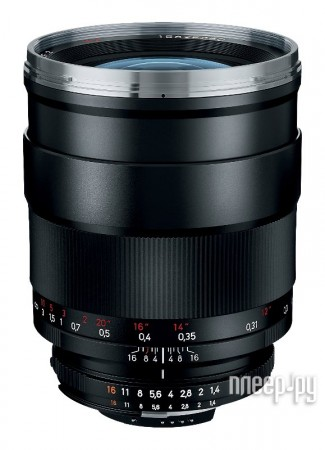 Объектив Carl Zeiss Nikon 35 mm F/1.4 Distagon T ZF.2  Pleer.ru  81797.000