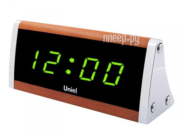 Многофункциональные часы Uniel UTL-12GBr  Pleer.ru  1232.000
