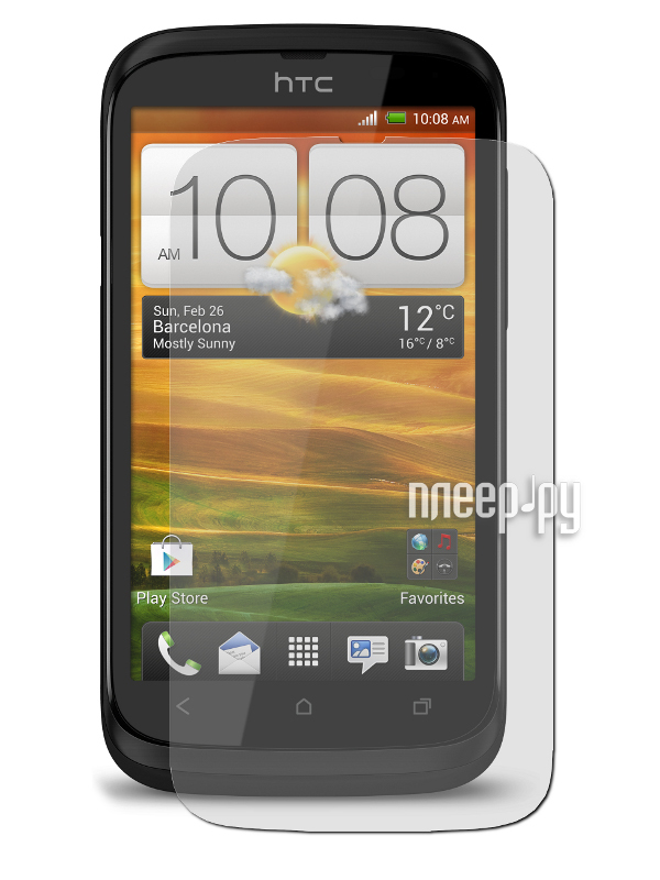 Аксессуар Защитная пленка HTC Desire V / Desire X LuxCase антибликовая 80336 / 80342  Pleer.ru  94.000