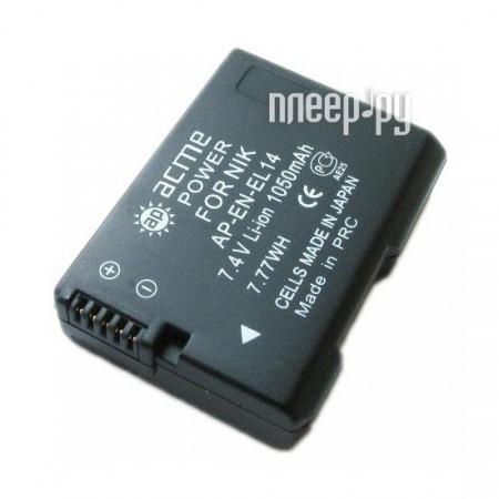 Аккумулятор AcmePower EN-EL14  Pleer.ru  1366.000