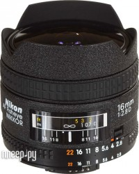 Nikon Nikkor AF  16 mm F/2.8 D Fisheye (�������� Nikon)