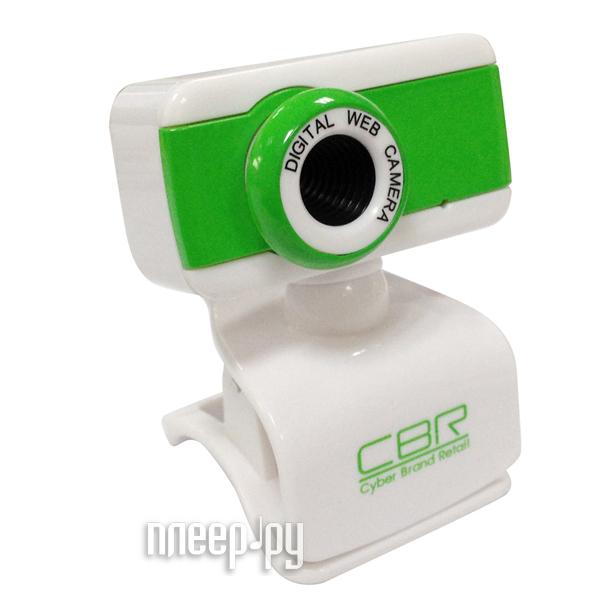 Вебкамера CBR CW 832M Green