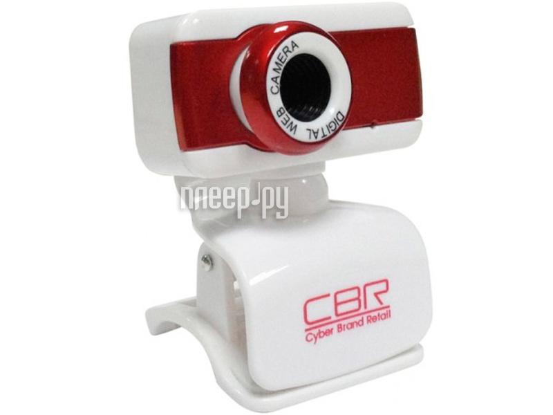 Вебкамера CBR CW 832M Red