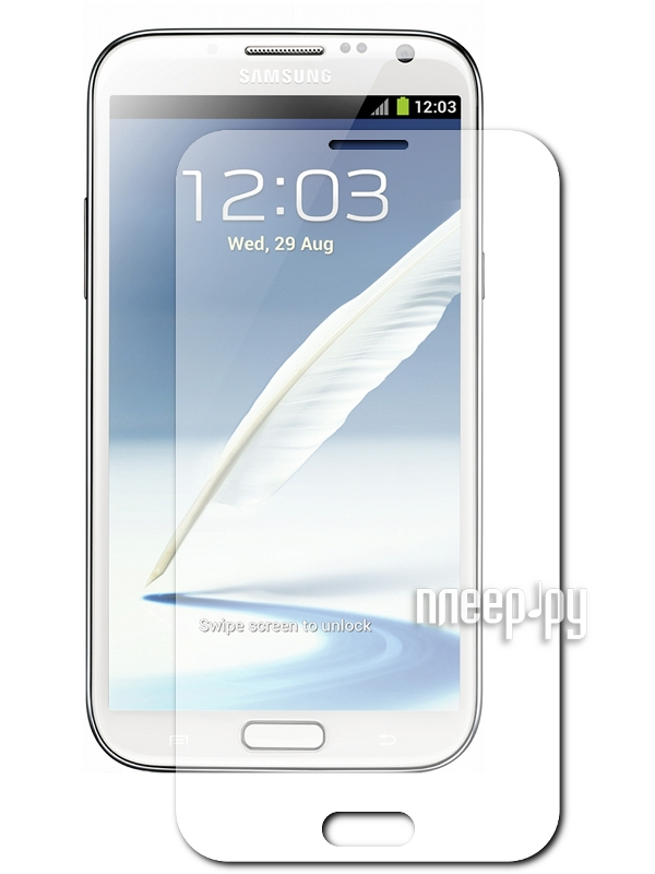 Аксессуар Защитная пленка Samsung GT-N7100 Galaxy Note 2 LuxCase антибликовая 80549  Pleer.ru  94.000
