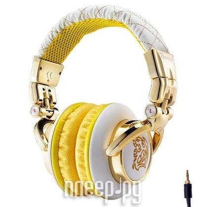 Наушники Tt eSports By Thermaltake Dracco Signature HT-DRS007OEWH Gold-White  Pleer.ru  1467.000