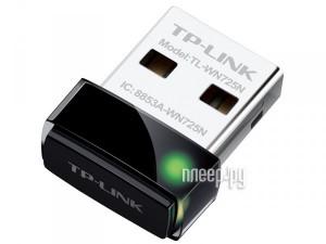 Купить Wi-Fi адаптер TP-LINK TL-WN725N