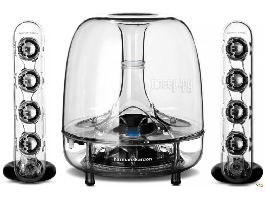 Колонки 2.1 Harman Kardon Soundsticks Wireless SOUNDSTICKSBTEUP  Pleer.ru  5361.000