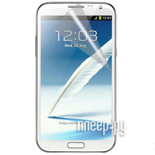 Аксессуар Защитная пленка Samsung GT-N7100 Galaxy Note 2 Media Gadget Premium / Ainy глянцевая  Pleer.ru  597.000