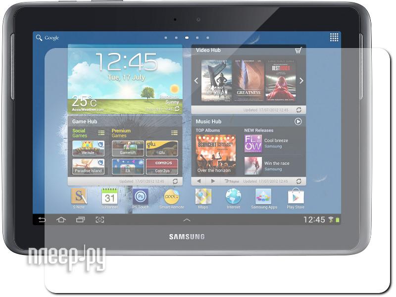 Аксессуар Защитная пленка Samsung GT-N8000 Galaxy Note 10.1 Ainy / Tutti Frutti SP TF061301 глянцевая  Pleer.ru  139.000