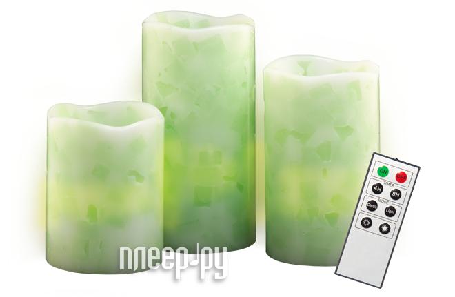 Светодиодная свеча Jazzway CL1-SET3Gn  Pleer.ru  868.000
