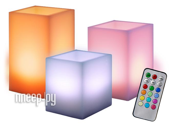 Светодиодная свеча Jazzway CL3-RGB-SET3S  Pleer.ru  1181.000