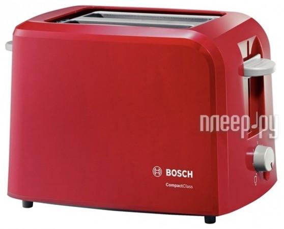 Тостер Bosch TAT 3A014 Red  Pleer.ru  1038.000