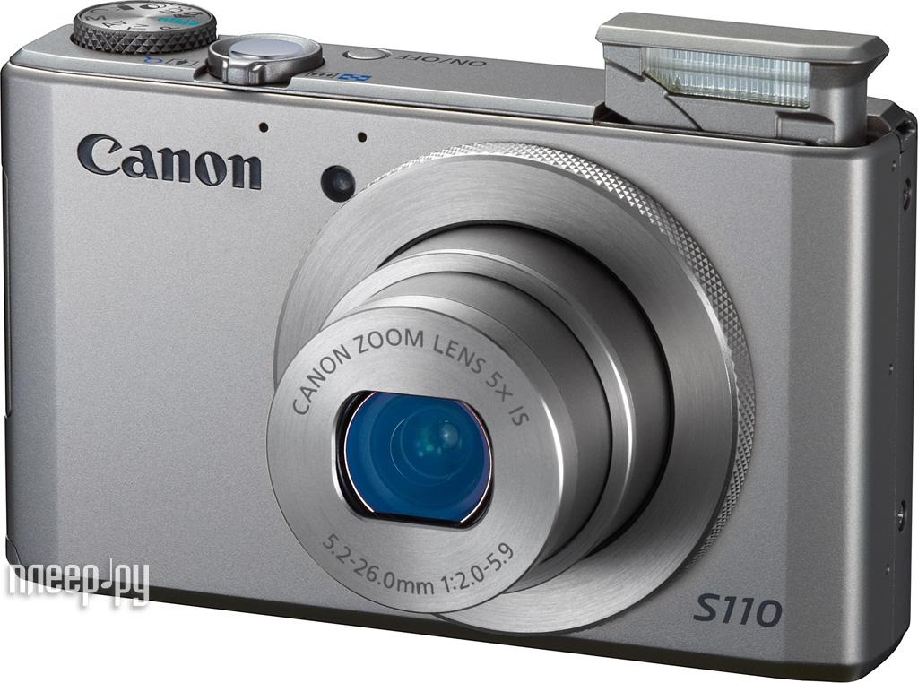 Фотоаппарат Canon PowerShot S110 Silver*  Pleer.ru  10934.000