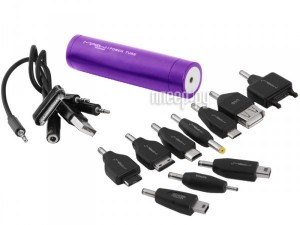 Аккумулятор MiPow Power Tube SP2200 2200mAh Purple