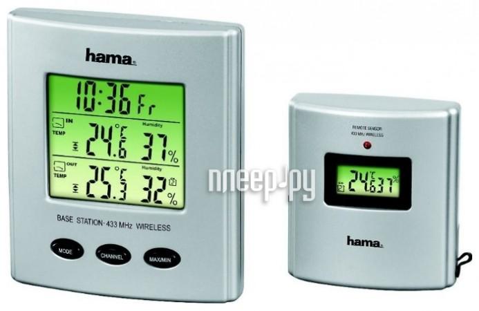 Метеостанция Hama H-123125 EWS-860 белый