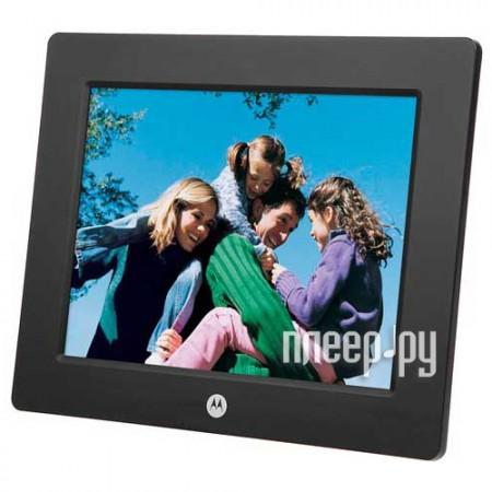 Цифровая фоторамка Motorola MLC800 Black  Pleer.ru  2448.000