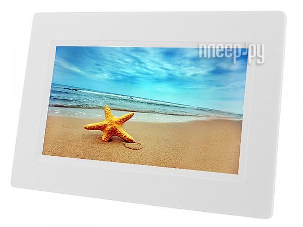 Цифровая фоторамка Digma PF-730 White  Pleer.ru  1351.000