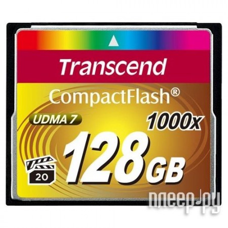 Карта памяти Transcend TS128GCF1000