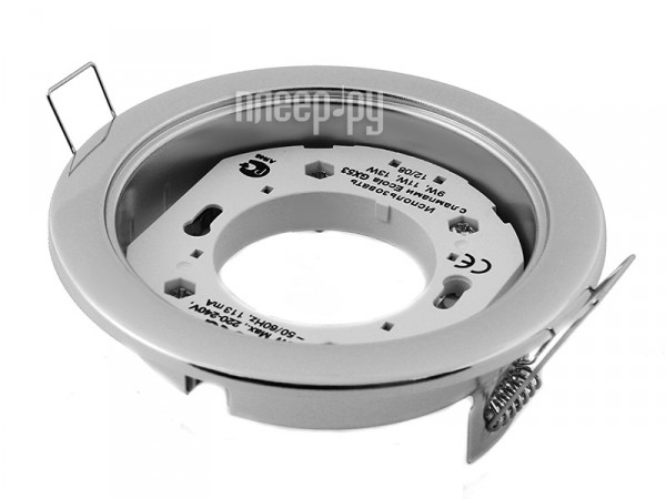 Светильник Ecola GX53 H4 220V Satin Chrome FS53H4ECB