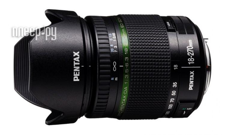Объектив Pentax SMC DA 18-270 mm F/3.5-6.3 ED SDM  Pleer.ru  28567.000