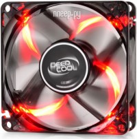 Вентилятор DeepCool Wind Blade 80 Red XDC-WINDBLADE80