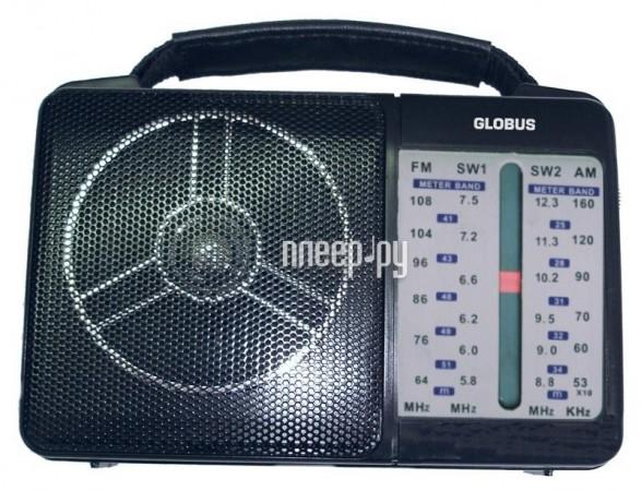 На странице представлено описание, характеристики, цены и фото на Радиоприемник GlobusFM GR-210.