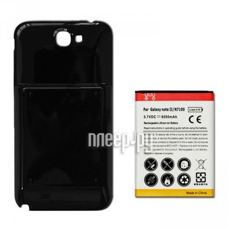 Аксессуар Аккумулятор Samsung GT-N7100 Galaxy Note 2 Ainy - усиленный! 5000/6500 mAh Black  Pleer.ru  559.000